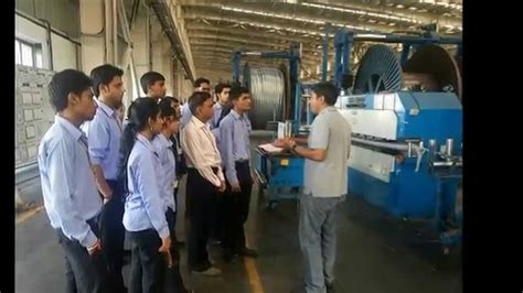 Mba International Business In Vadodara by Mba Students Learn Pom Practical By Visit To Kec