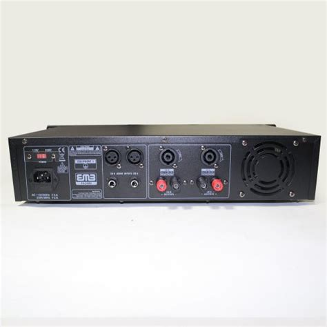 Power Lifier Karaoke Teli Ok 309a emb pro pa2400 rack mount professional power lifier 1200 watts pa band club for home dj