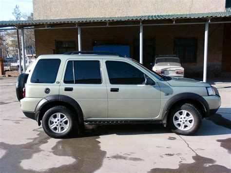 land rover freelander 2003 2003 land rover freelander pictures 1 8l gasoline