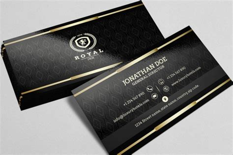 black business cards templates psd 81 best business card templates free psd word vector