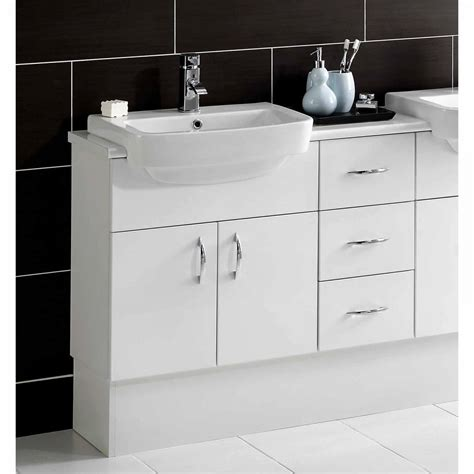 Slimline Bathroom Furniture Noble Dueto Slimline Washbasin Unit Uk Bathrooms