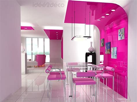 Dining Room Table Decoration by Une D 233 Co De Salle 224 Manger Au Design Rose
