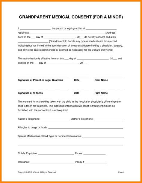 authorization letter take child doctor 8 permission letter grandparents edu techation