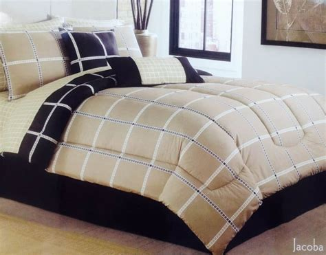 twin plaid comforter plaid bedding sets ease bedding with style