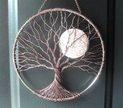 calming tree wire tree of wall hanging sun by