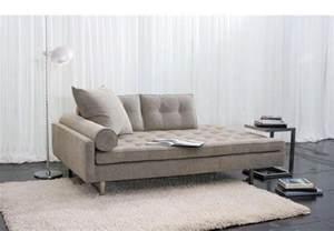 meridienne salon roma canape lit tissu 182x89x84