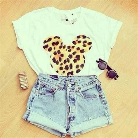 T Shirt Tees Collection Animal World 19 mickey mouse tshirt leopard print swag t shirt