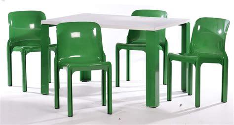 vico magistretti sedie vico magistretti orni artemide quattro sedie