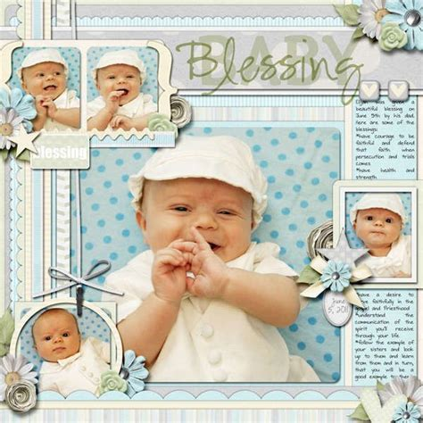 scrapbook layout ideas baby christening 17 best images about scrapbook layout sles on pinterest