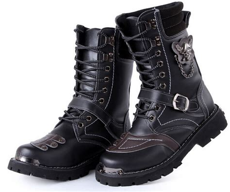 boys motorcycle boots big sale motorcycle boots vintage combat army