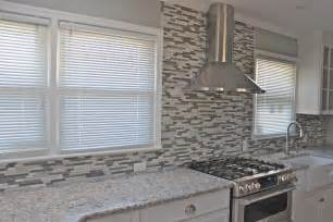 Mosaic Glass Backsplash Kitchen by Mosaic Kitchen Backsplash New Jersey Custom Tile