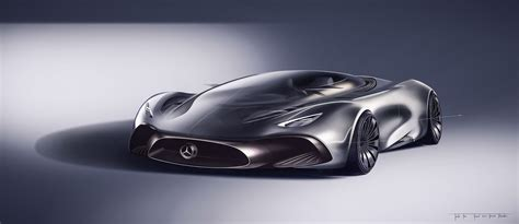 mercedes supercar concept designer s take on a mercedes hybrid supercar looks
