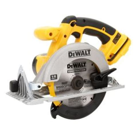 dewalt 18 volt cordless 6 1 2 in 165mm circular saw