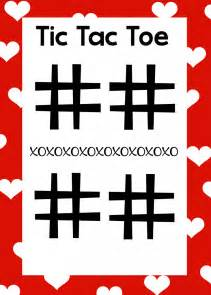 tic tac toe project template free printable s day word search tic tac toe