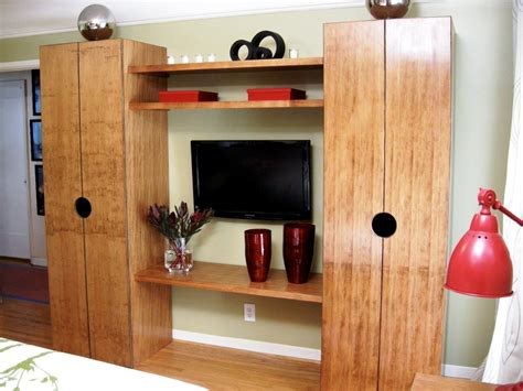 how to make an armoire how to build a wardrobe tower hgtv