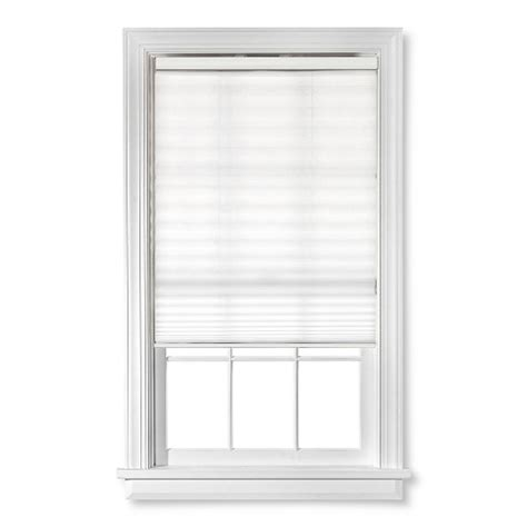window blinds target bali 1 1 2 quot cordless pleated window shade white target