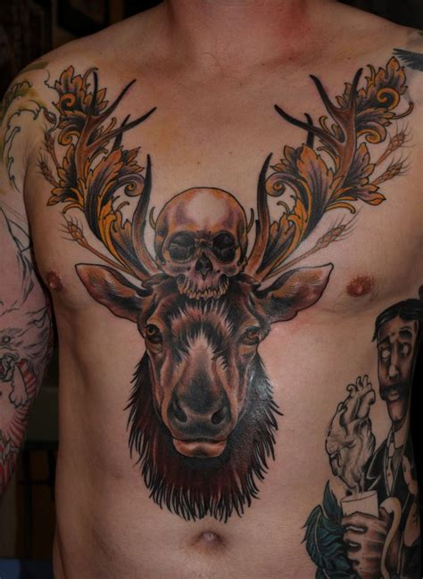 the tattooed moose 14 best sleeve designs black images on