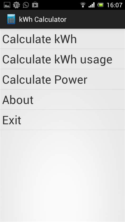 kwh calculator free android apps on google play