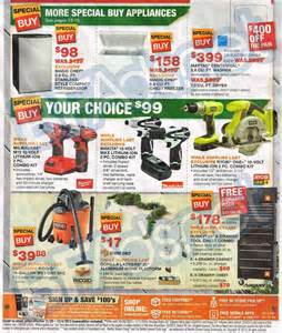 home depot sales ad home depot black friday 02