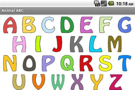 kids animal abc alphabet sound for android free download