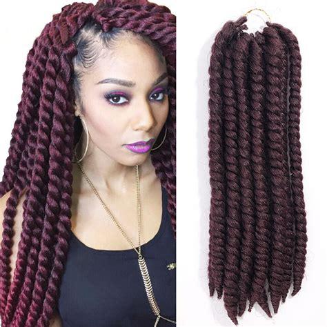 seamlangse twist crochet hair evet new havana braiding twist synthetic crochet braids