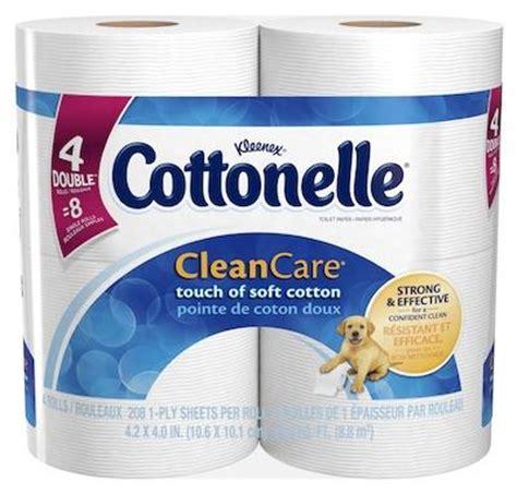 Who Makes Cottonelle Toilet Paper - cottonelle clean care toilet paper