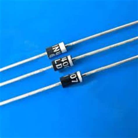 1n4007 diode forward resistance 1n4007 1000v piv 1 silicon diode pkg of 100