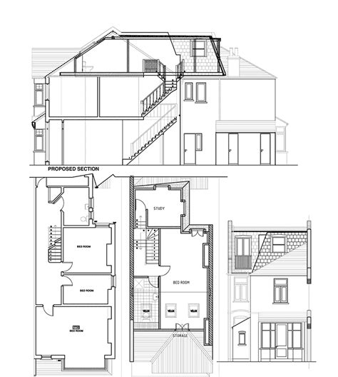 the floor l l shaped house plans with loft