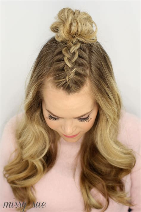 try braided hairstyles influenced by native american american topnot braided hairstyles native american