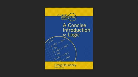 a concise introduction to logic a concise introduction to logic free ebooks