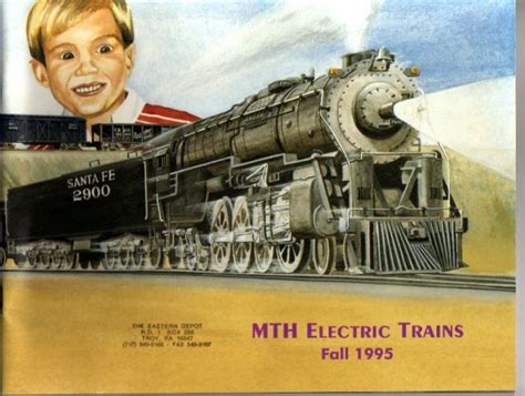 mikes train house fall 1995 mth mikes train house electric toy rr model trains catalog
