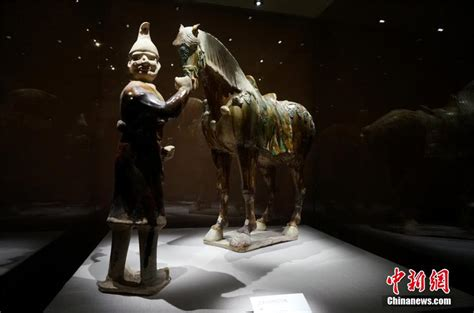 Tang Dynasty 1 19 tang dynasty tri colored glazed pottery exhibited in henan 1 chinadaily cn