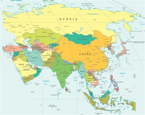 world map image asia map world including europe asia and africa