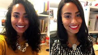 haircut before or after hair rebonding curlpower women switch from curly to straight hairstyles