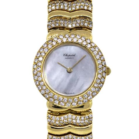 chopard vintage 10 5744 yellow gold and