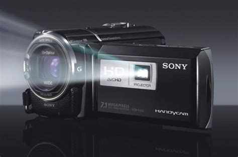 Handycam Sony Plus Proyektor sony handycam hdr pj50 comes with onboard projector
