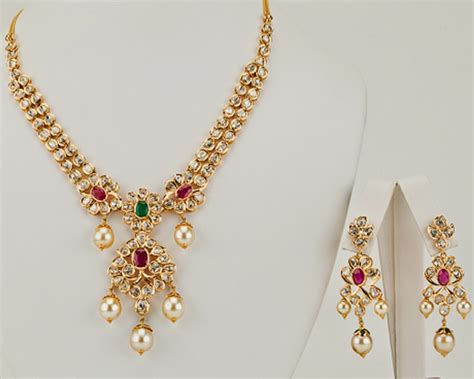gold necklace designs in grams pachi necklace