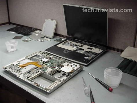 toshiba tecra 9100 disassembly guide