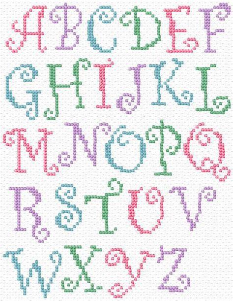 pattern maker letters 25 best ideas about cross stitch alphabet patterns on