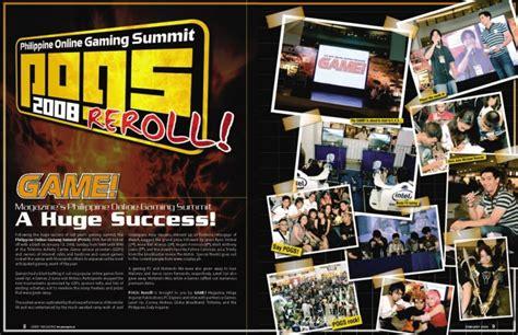 Gameplayer Magazine De pr and advertorials by milan at coroflot