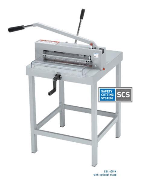 Pemotong Kertas Eba Pemotong Kertas Manual Type 436 M Distributor Mesin