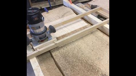 Wood Slab Flattening Using A Handheld Router Clipzui Com