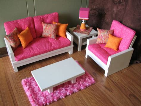 American Doll Living Room by 18 Quot Doll Furniture American Sized Living Room