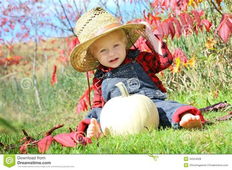baby country baby country boy in autumn stock photo image 34324928