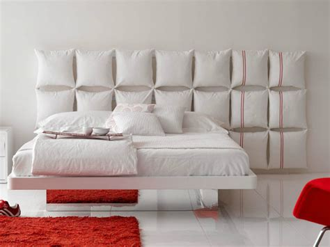 bed backrest design pillow headboard