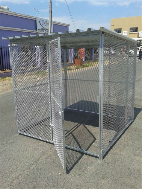 heavy duty kennels kennel heavy duty with roof and protected sleeping area code k1 pet creations
