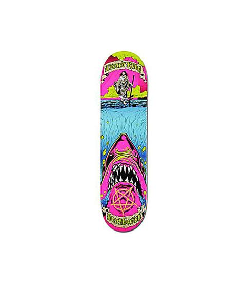 Deathwish Deck by Deathwish Lizard King Holy Chum 8 0 Quot Skateboard Deck