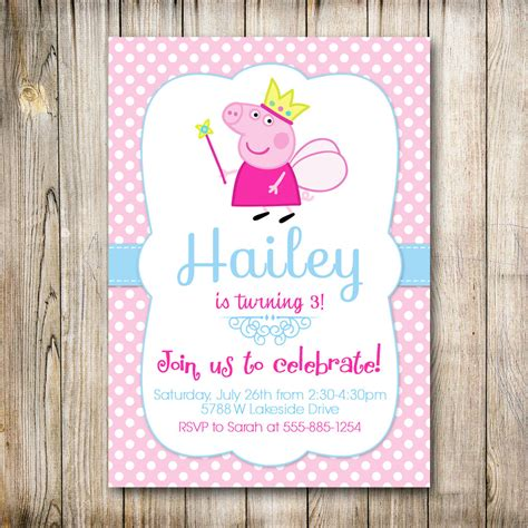 Pool Party Decorations by Make Peppa Pig Birthday Invitations All Invitations Ideas
