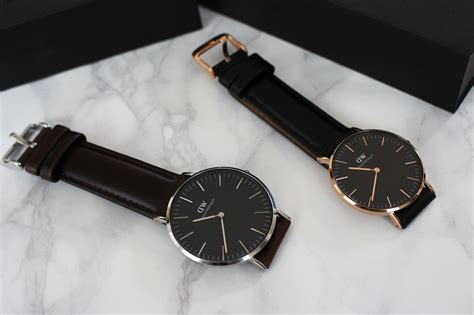Daniel Wellington Classic Black Original a new classic daniel wellington penneys to prada fashion lifestyle