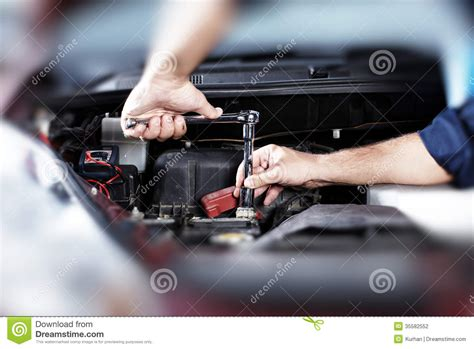 Garage Plans And Prices auto repair stock photography image 35582552